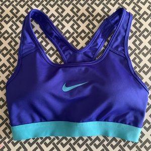 XS Purple Nike sports bra